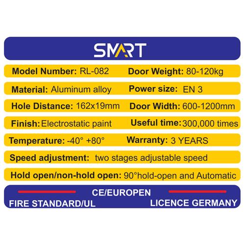 مشخصات جک ارامبند در وزن 80/120 مدل RL082