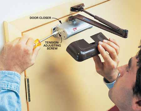 تعمیر جک آرام بند درب و رفع روغن ریزی | اسمارت